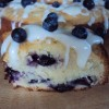Blueberries and Cream Cake