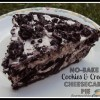 No-Bake Cookies & Cream Cheesecake Pie