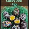 How to make easy homemade Cadbury Creme Eggs