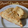 Warm & Flaky Glazed Vanilla Scones like Starbucks