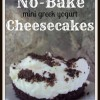 No-Bake Mini Greek Yogurt Cheesecakes