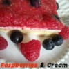 Raspberries & Cream Dessert from The Better Baker