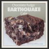 Chocolate Fudge Earthquake Cake