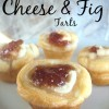 Savory Cheese & Fig Tart Recipe