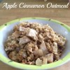Baked Brown Sugar & Apple Cinnamon Oatmeal