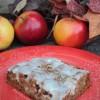 Apple Fritter Poke Cake