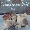 Cream Cheese Cinnamon Roll Bake