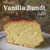 Classic Vanilla Bundt Cake from King Arthur