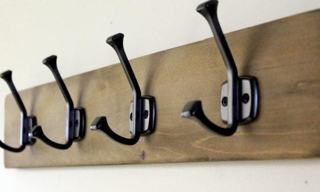 Featuring You ~ DIY Hook Rack