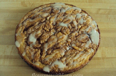Scratch Cinnamon Roll Coffee Cake
