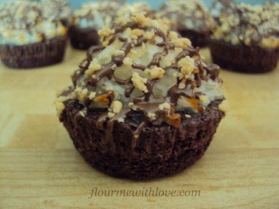 Almond Joy* Brownie Bites