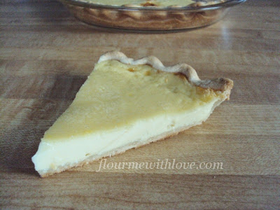 The Best Egg Custard Pie