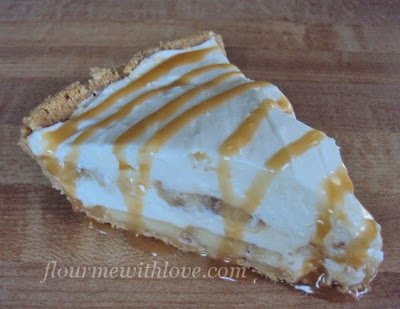 No-Bake Dulce de leche Banana Cream Pie