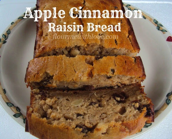 Apple Cinnamon Raisin Quick Bread