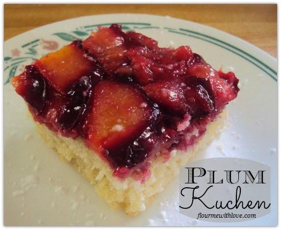 Plum Kuchen by Fruitful~Four Seasons of Fresh Fruit Recipes