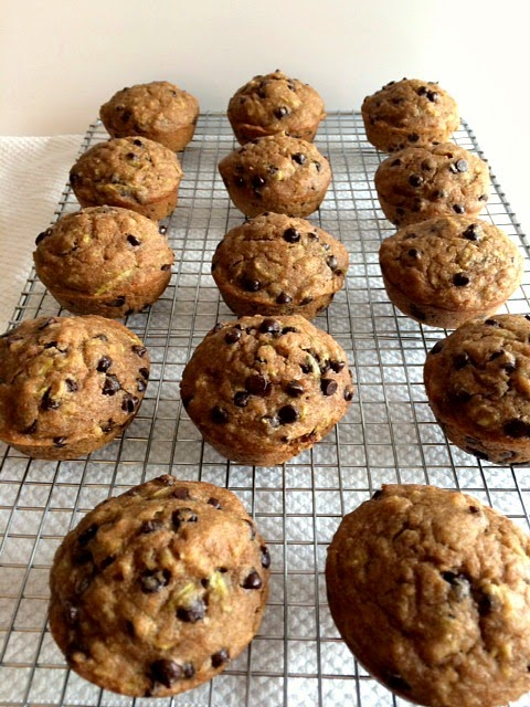 http://skinnyfitalicious.com/chocolate-chip-zucchini-muffins/