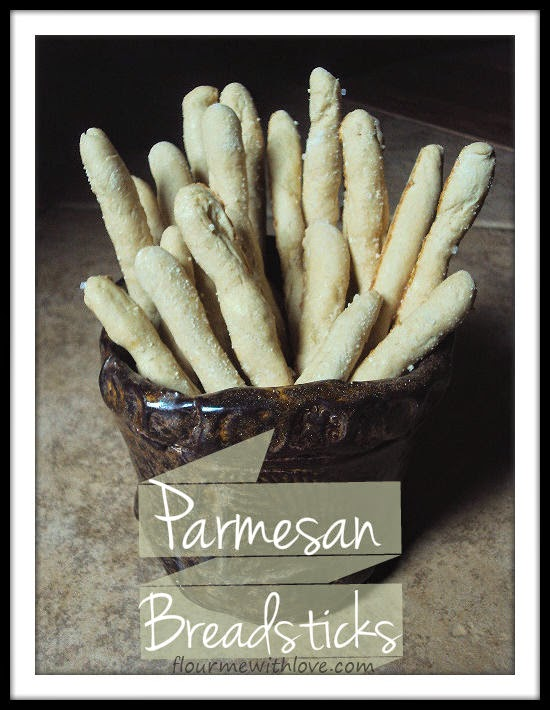 Parmesan Breadsticks from Soup of the Day by Ellen Brown