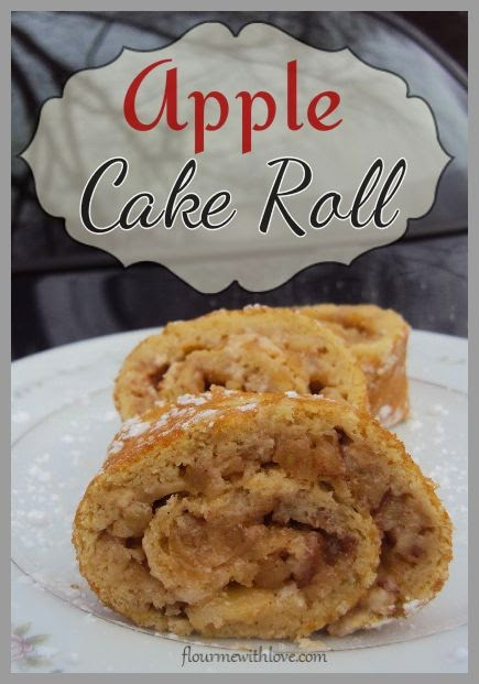 Apple Cake Roll