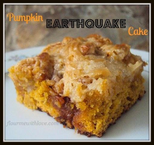 Pumpkin Earthquake Cake; Flour Me With Love