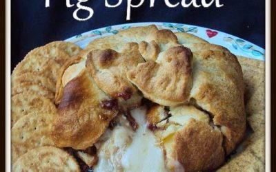 Baked Brie & Fig Spread