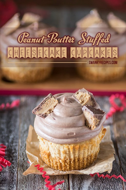 http://www.swankyrecipes.com/peanut-butter-cheesecake-cupcakes-gingerbread-houses.html
