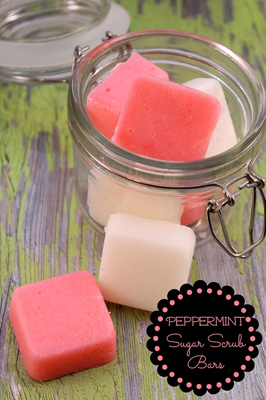 http://www.happy-mothering.com/11/diy/diy-peppermint-sugar-scrub-bars/