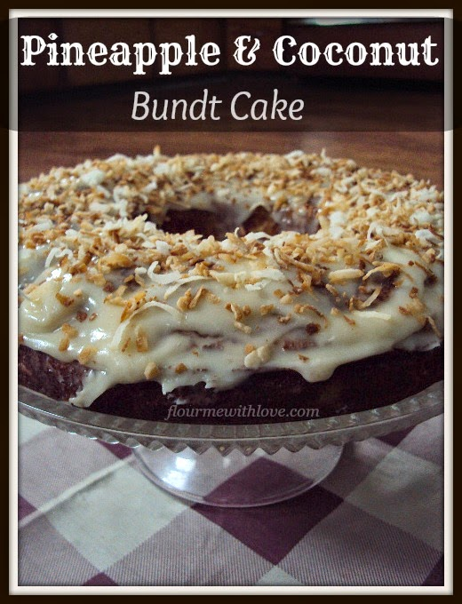 Pineapple & Coconut Bundt Cake