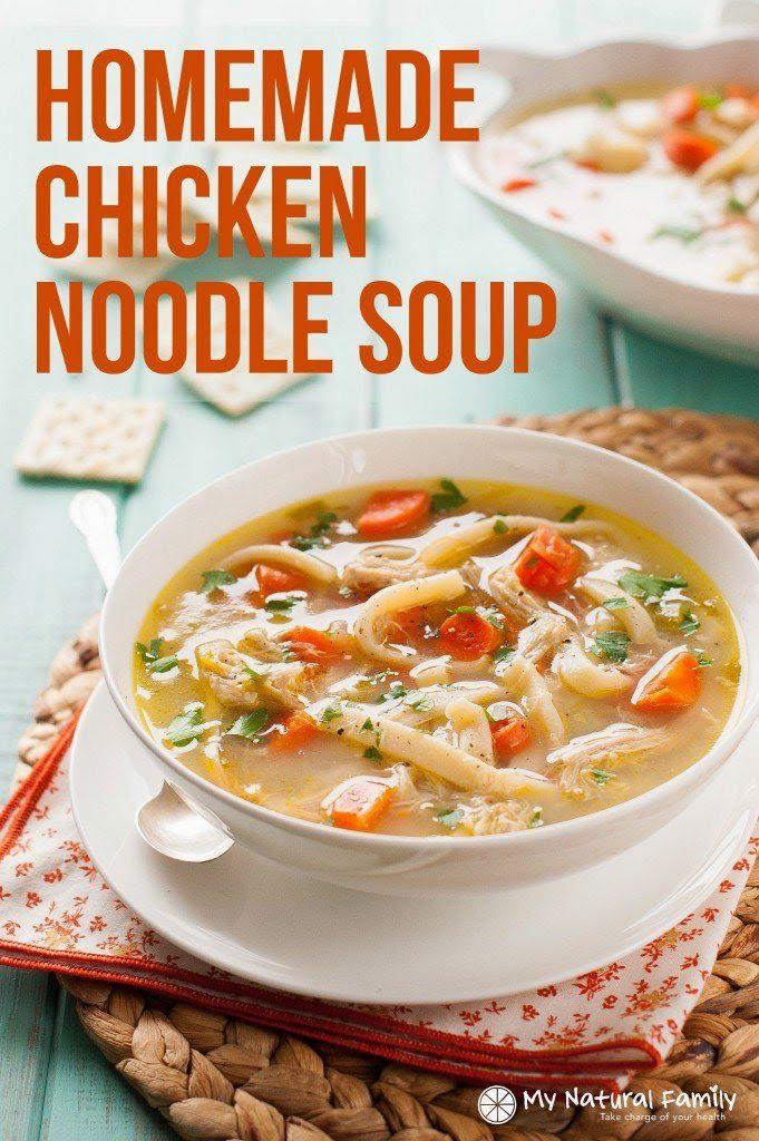http://www.mynaturalfamily.com/recipes/dairy-free-recipes/homemade-chicken-noodle-soup-recipe/