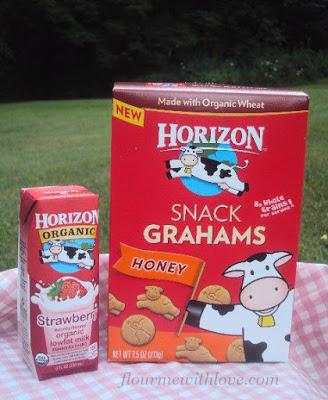 Summer of Imagination: Enjoying the Outdoors! #HorizonSnacks