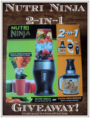 Nutri Ninja 2-in-1 Review and #giveaway