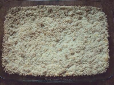 Lemon Crumb Bars; flourmewithlove.com