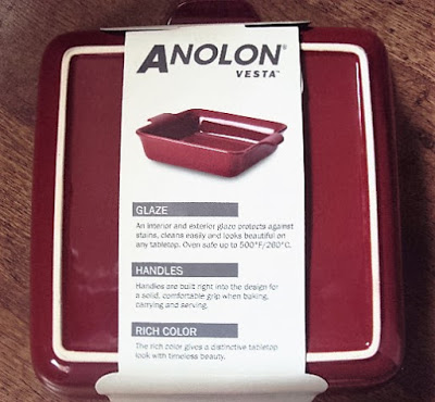 Anolon Vesta Ceramic Baker Square; giveaway