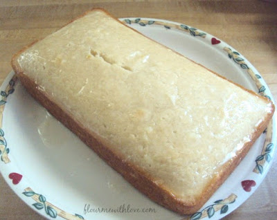 Dairy-Free & Egg-Free Lemon Bread with a Sweet Tart Glaze