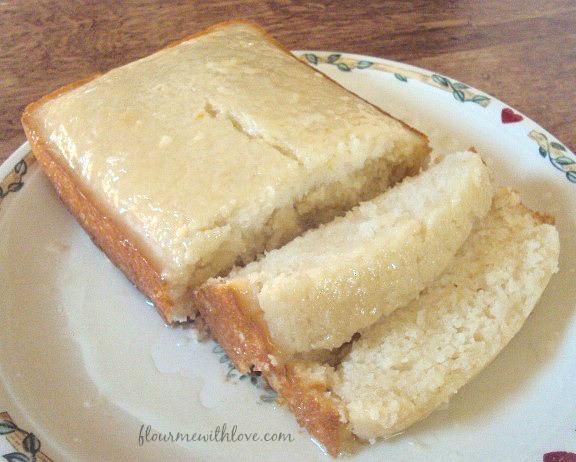 Dairy-Free & Egg-Free Lemon Bread with a Sweet Tart Glaze