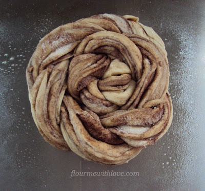 Braided Cinnamon & Sugar Bread