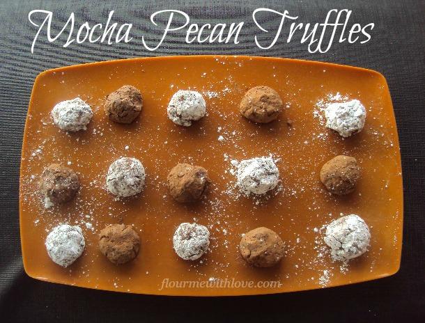 Mocha Pecan Truffles
