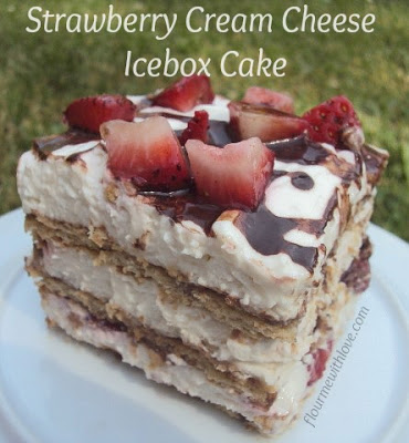 strawberry-cream-cheese-icebox-cake