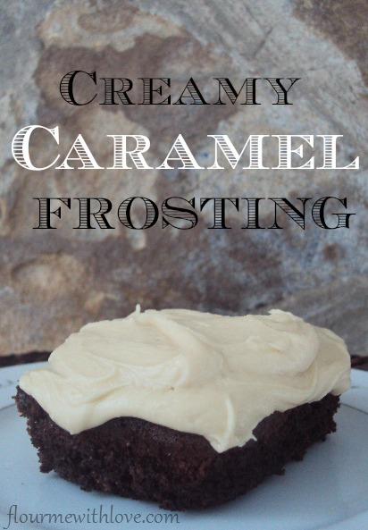 Creamy Caramel Frosting Recipe