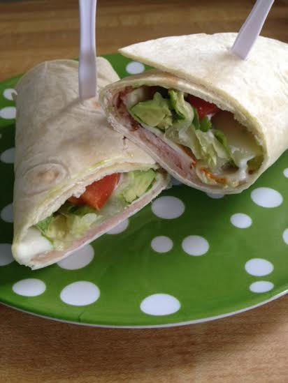 Easy Meat & Veggie Wraps #HillshireFarmNaturals