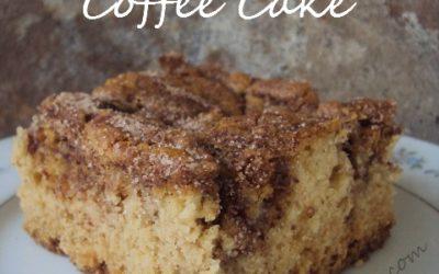 Cinnamon Swirl Raisin Coffee Cake