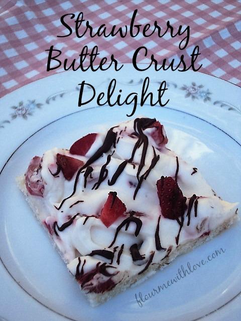 Strawberry Butter Crust Delight Recipe