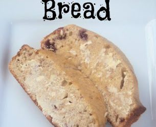 Strawberry Sour Cream Quick Bread