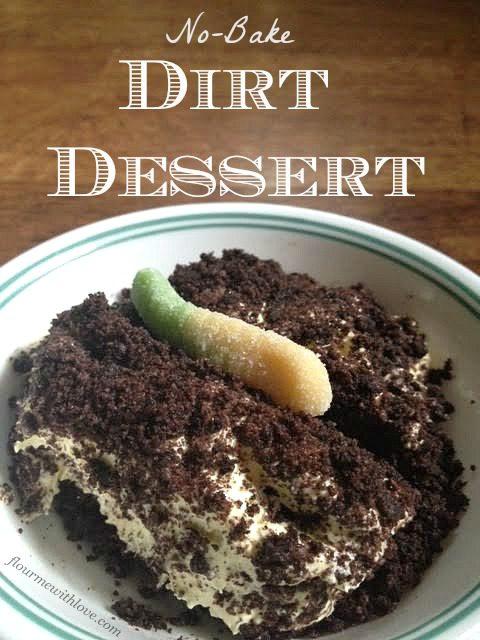 No-Bake Dirt Dessert