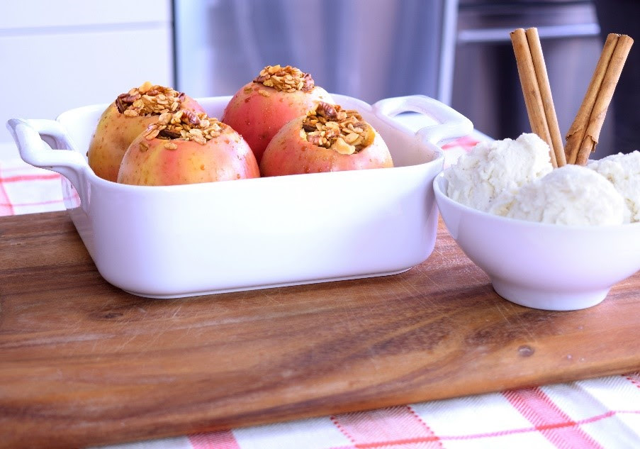 Baked Granola Apples