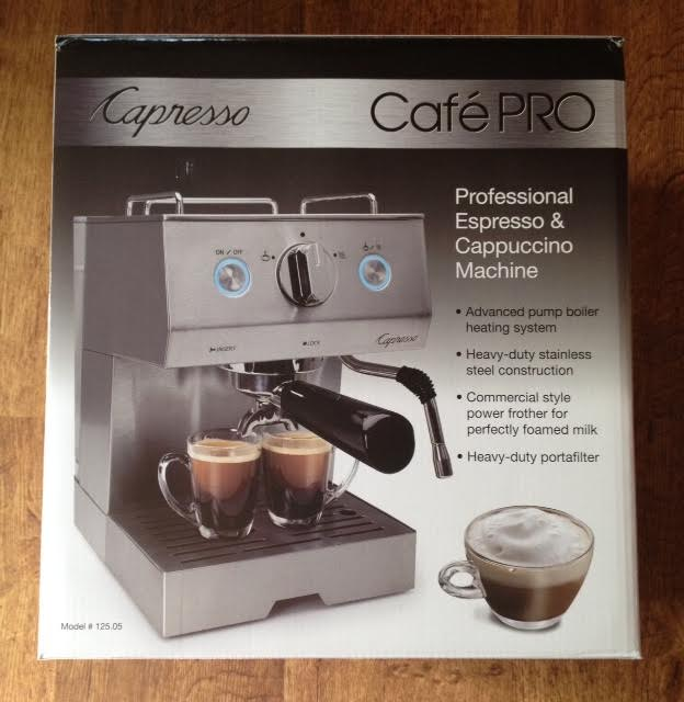 A gift for you: Capresso Cafe'Pro Giveaway!