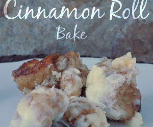 Cream Cheese Cinnamon Roll Bake