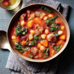 Featuring You ~ Spicy Sausage and Chickpea Soup