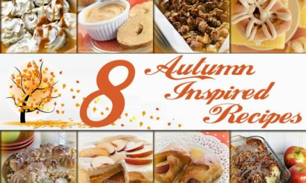 8 Autumn Inspired Recipes