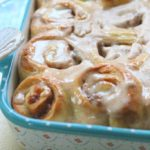 Featuring You ~ Caramel Apple Cinnamon Rolls with Apple Cinnamon Icing