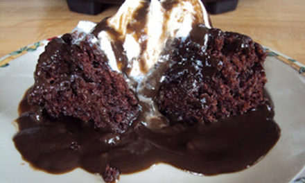 Slow-Cooker Chocolate Pudding Cake
